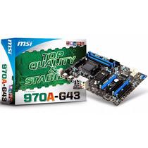 Motherboard Msi 970a G43 Amd Am3+ Fx Phenom Athlon Usb 3.0