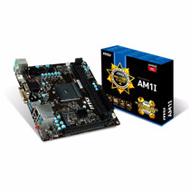 Mother Msi Am1 Am1i Itx Hdmi Usb3 Sata3 Dvi Garantia