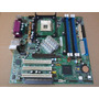 Mother Hp P4sd 478 Soporta P4 C/bus 800mhz Ddr1 Agp Y Sata!!
