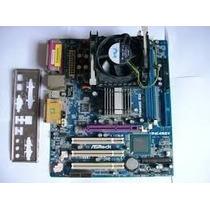 Mother P4i45gv + Intel Pentium 4 2.26ghz + Cooler