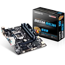 Motherboard Gigabyte Ga-b85m Para Pc Intel Haswell 1150