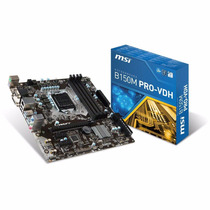 Mother Msi B150m Pro-vdh Socket 1.151 Chipset Intel B150