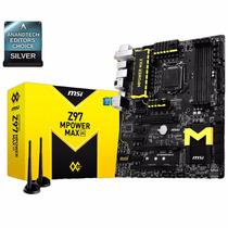 Mother Gamer Intel Msi Z97 Mpower Max Ac 1150 Micro I5 I7