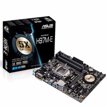 Motherboard Asus H97m E Pc Intel Haswell 1150 Xellers