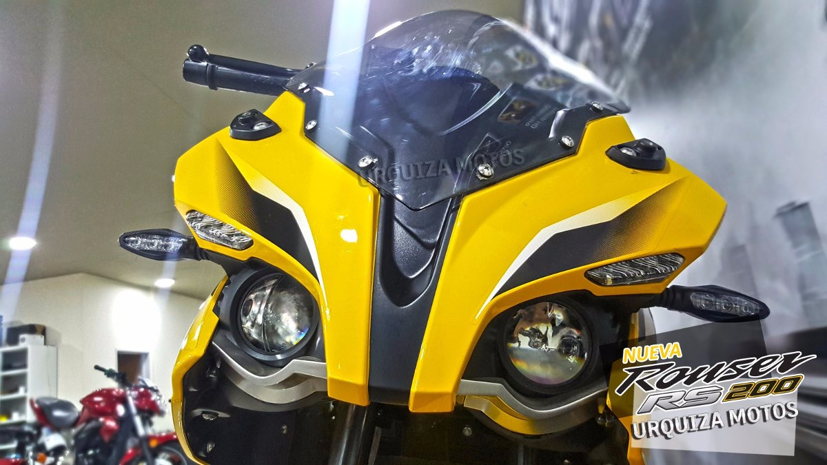 Moto Bajaj Pulsar Rouser Rs 200 Rs200 0km Urquiza Motos - Año De ...