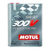 Aceite Motul 300v 5w30 2l 100% Sintético Competición Auto