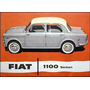 Fiat 1100 Juego De Juntas De Carburador Weber 1 Boca