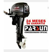 Motor Fuera De Borda Parsun 15 Hp 2 T Nuevo En Caja !!!
