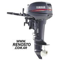 Motores Yamaha 15hp Pata Corta Entrega Inmediata! Renosto