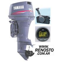 Motores Yamaha 90hp 2t Full Arr/power/inyección - Renosto