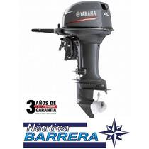 Motor Yamaha 40 Hp. Arranque Manual. P-c. Entrega Inmediata