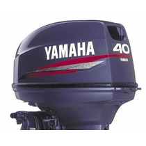 Fuera De Borda 40 Hp 2t C/power Trim Yamaha Palermo Bikes