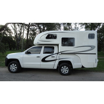 Camper Para Pick-up Doble Cabina