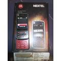 Celular Nextel Rokr Music Mp3 Slider I856 I856w En Caja