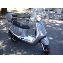 Scooter Zanella Exclusive 150 Usado Con Accesorios