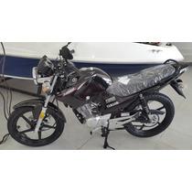Yamaha Ybr Ed 125 Cc 0 Km Negra/blanca