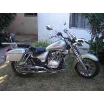 Motomel 200 C.c. Custom Color Plata.titular