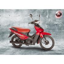 Oferta!!! Moto Gilera Smash Automatica Sin Cambios Nueva 16