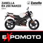 Moto Zanella Rx 200 Naked Expo Moto Financiación