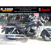 Zanella Patagonian Eagle 250 Black Custom Chopper