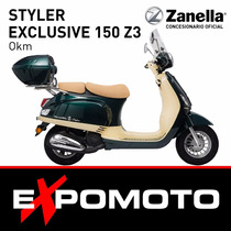 Moto Zanella Styler Exclusive 150 Z3 Expo Moto Financiación