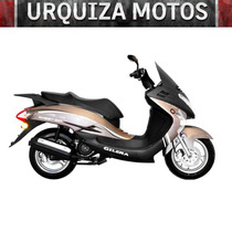 Scooter Gilera Qm 125 New 0km Urquiza Motos