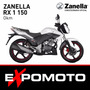 Moto Zanella Rx 1 150 Expo Moto Financiación