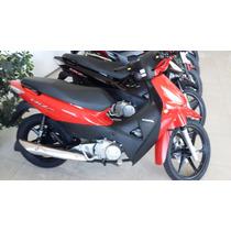 Honda Biz Full 125 Nueva Roja Negra Moto Sur 2015