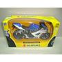 Suzuki Gsx-r1000 2008 - Azul - Moto New Ray 1/12