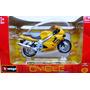 Moto Triumph Tt600 Burago Cycle Die Cast 1/18 Mundial Hobby