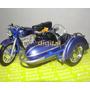 Moto Bmw R69s Con Sidecar Die Cast Metal Plastico Coleccion