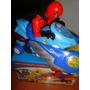 Moto Spiderman Con Luces Y Sonido