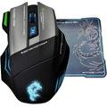 Mouse Gamer Thor G9 Elephant 3200dpi 7 Macros + Mouse Pad