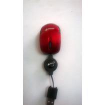 Mini Mouse Retractil Genius Optico Usb Notebook A Revisar