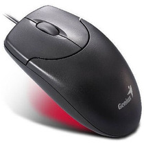 Mouse Genius Netscroll 120 Black Usb - Optico - Microcentro