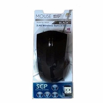 Mouse Inalambrico Scp Con Pilas Incluidas