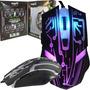 Mouse Gamer Optico Usb 2400 Dpi 6 Botones Nisuta Nsmog67