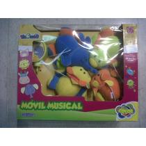 Movil Musical A Cuerda Bebe Coloria Jungla Int B7001