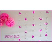 Guirnalda Grullas Origami- Fiestas 15 Bautismos Bodas-envios