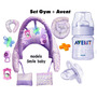 Set Gym +avent:mamadera Y Chupete Envio Gratis Puerta