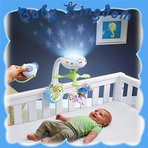 Movil Cunero De Bebe Proyector Fisher Price Control Remoto