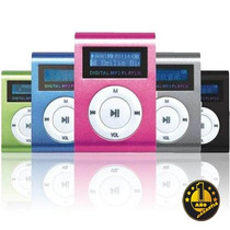 Mp3 Shuffle Lcd Clip Chip Recargable Hasta 16gb. 1 Año Gtia