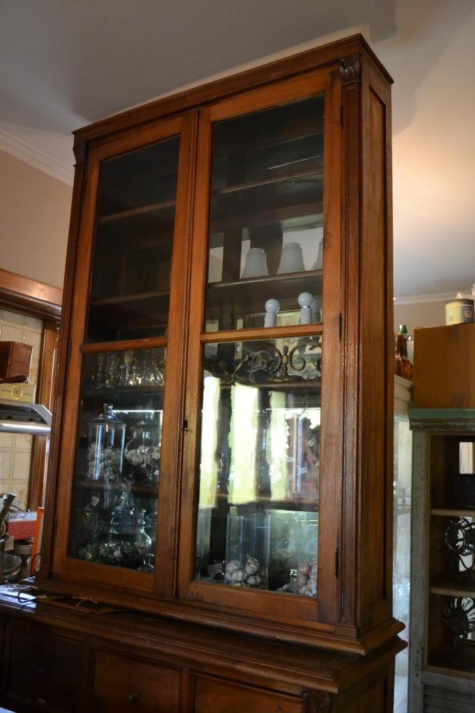 Mueble Antiguo De Madera Tallada Vendo Mueble Para ...