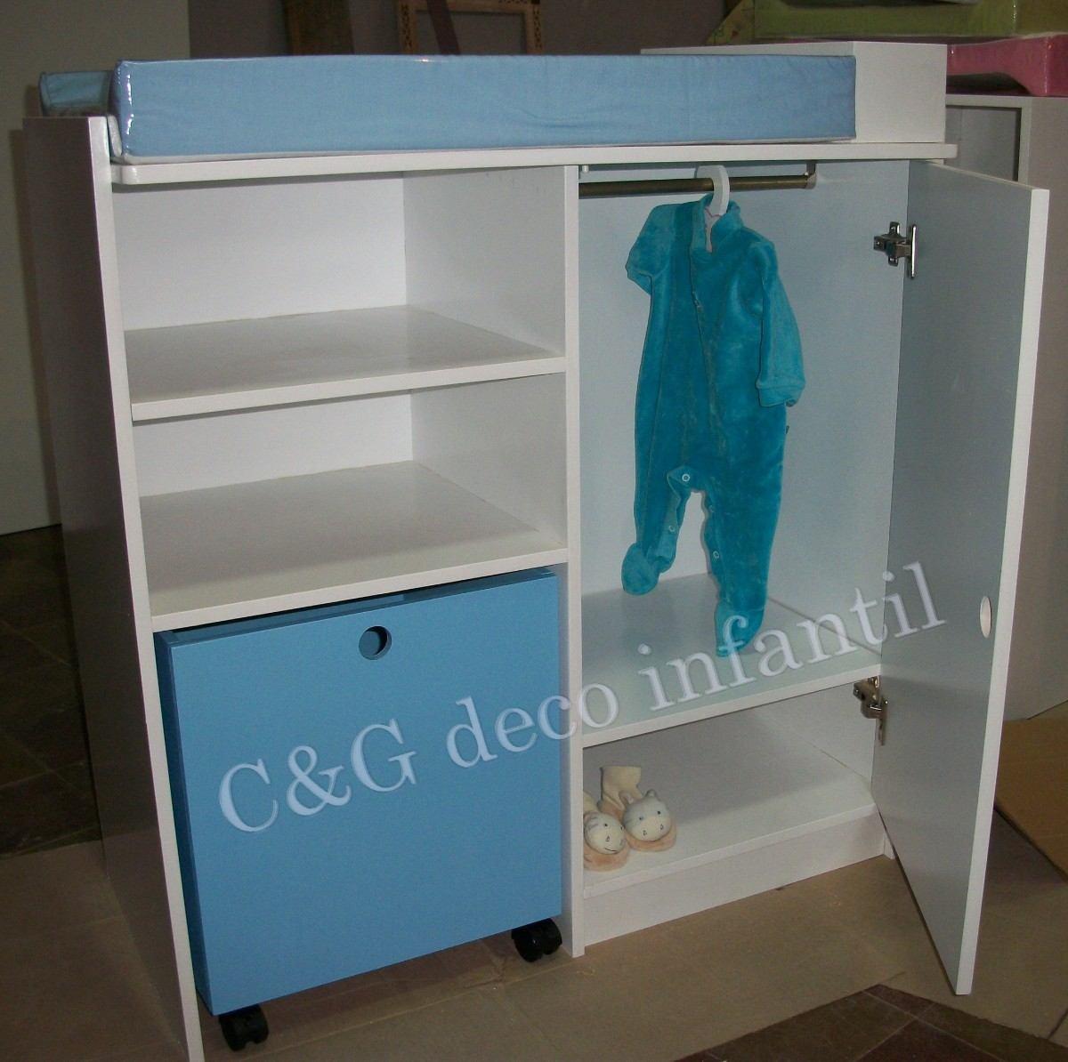 Mercadolibre argentina muebles para bebe for Roperos para cuartos de ninas