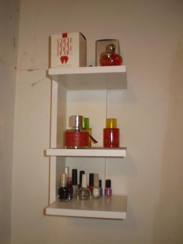 Organizador De Baño De Madera:Mueble Para Baño De Madera, Organizador De Baño Esquinero – $ 250,00