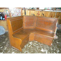Muebles esquineros en roble o cedro muebles antiguos for Muebles antiguos argentina
