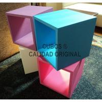 Cubos 40x40x30 Artesanales Bibliotecas Estantes Oferta!!!