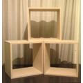 Cubos Apilables 40x40x30...fibrofacil 18 Mm