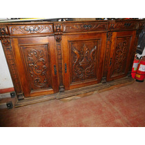 Vendo Mueble Antiguo, Tallado A Mano