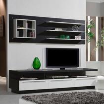 Modular Panel Mesa Tv Rack Lcd Modelo Jalisco Muebles Ryo